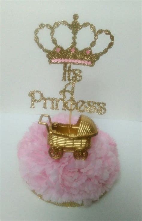 It S A Princess Centerpieces Baby Shower It S A Girl Princess Centerpieces For Baby Shower