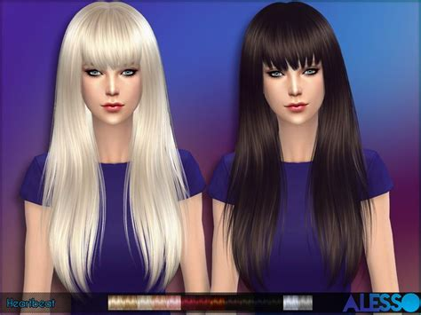sims 3 custom content fringe hairstyle 17 best images about my sims 4 custom content folder