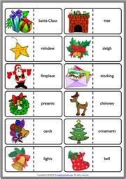 christmas esl vocabulary worksheets