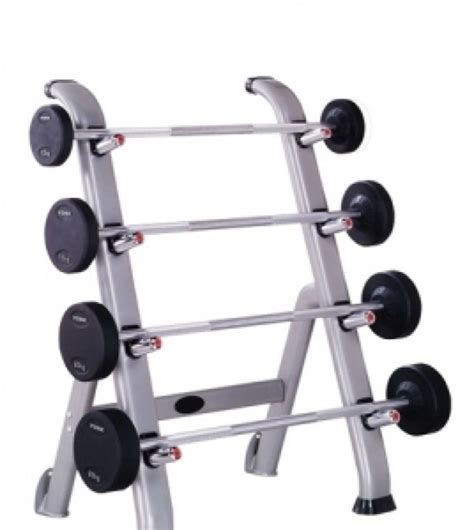 york pro style barbell set with rack 10kg 17 5kg 4 barbells
