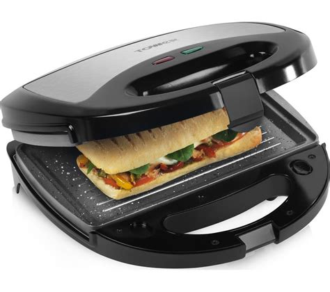 Sandwich Toaster Reviews Uk Buy Tower T27008 3 In 1 Sandwich Toaster Black Amp Grey