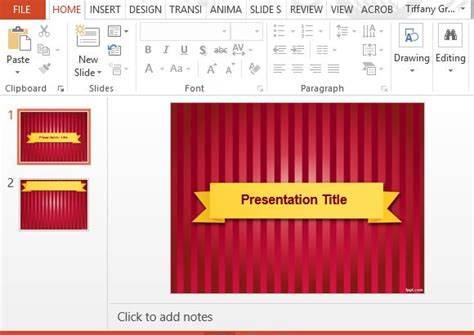 Event Presentation Templates For Powerpoint Show Powerpoint Template