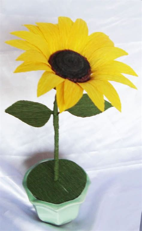 How To Make Paper Sunflowers - 47 best images about foamiran on artesanato