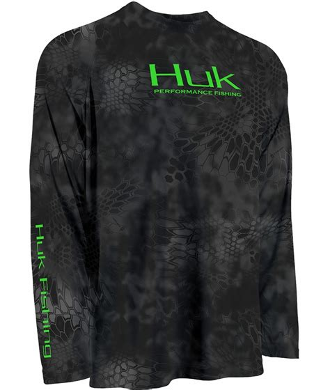 Fishing 11 Raglan huk kryptek performance raglan sleeve shirts