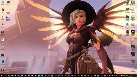 wallpaper engine mercy wallpaper engine overwatch backgrounds youtube