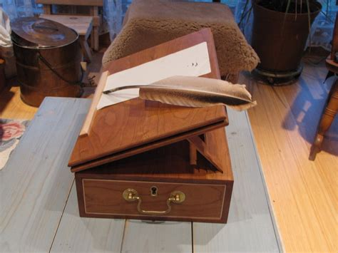 thomas jefferson portable writing desk  dohboy