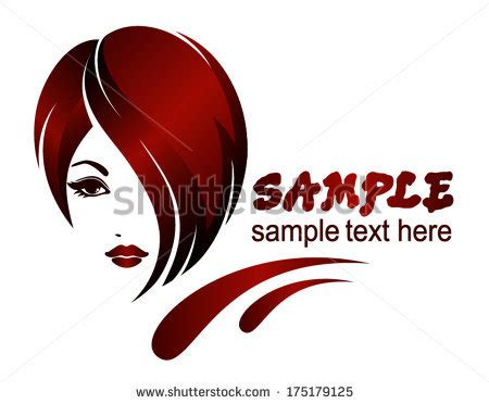 hairstyle banner design banner template beauty salon hair styles stock vector