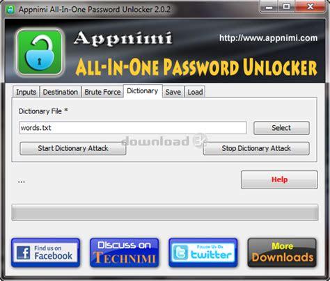 best zip password unlocker appnimi all in one password unlocker 3 1 review