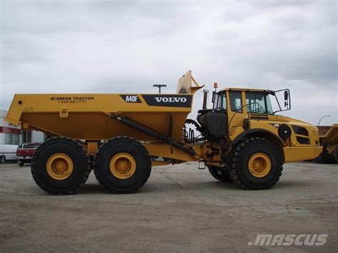 volvo af articulated dump truck adt year  price   sale mascus usa