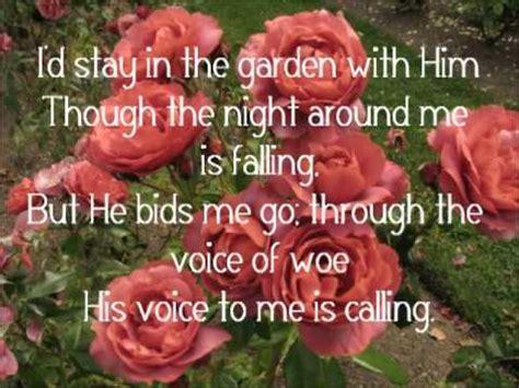 Alan Jackson In The Garden by In The Garden Alan Jackson Lyrics