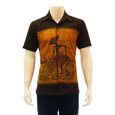 Jarik Abstrak 1 desain kemeja batik lengan pendek dan panjang untuk pria