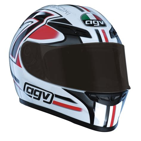 agv gp tech  white red  uk delivery