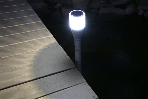 2pk Solar Dock Post Lights View All Lake Lite Solar Dock Lights Solar
