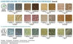 bisque color chart amaco low cone 05 glazes artists choice glazes for