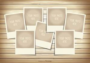 Free Photoshop Photo Templates by Photo Collage Template Free Vector Stock