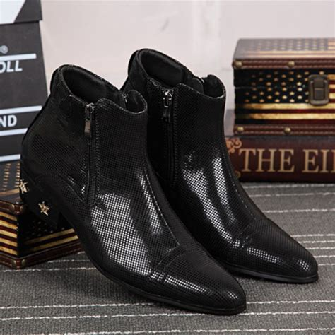 Sepatu Pria Boots Sauqi Baly Black Leather Original popular formal winter boots buy cheap formal winter boots lots from china formal winter boots