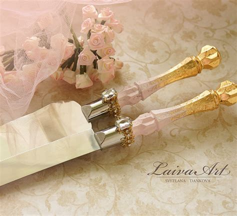 wedding cake knife set gold gold wedding cake server set knife cake cutting set by