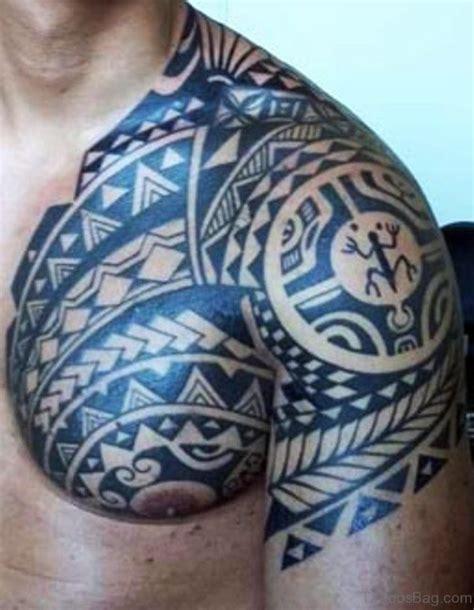 tattoo chest polynesian 68 perfect samoan shoulder tattoos