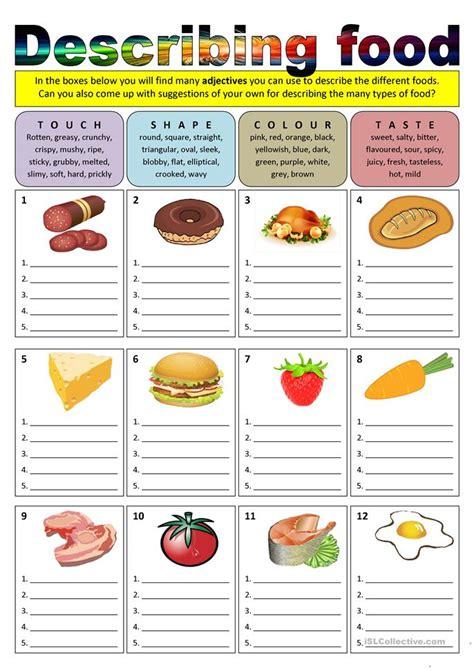 esl worksheets for food 1812 free esl food