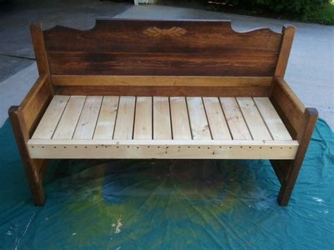bed frame bench 62 best images about benches from beds on pinterest old