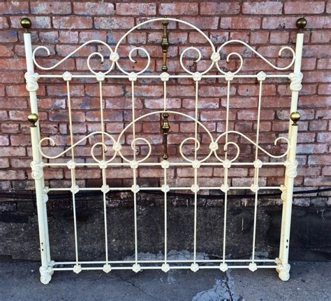 Antique Victorian Wrought Iron Mountain Bed Frame Full 58 Antique Wrought Iron Bed Frame