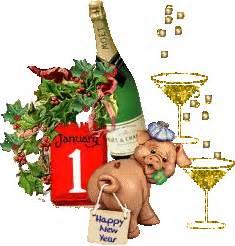 new year monkey pig szilveszteri gifek