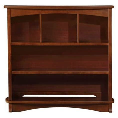 Changing Table Bookshelf Slumber Time Elite By Simmons Bookcase Hutch Espresso Truffle Would Use As Hutch Above