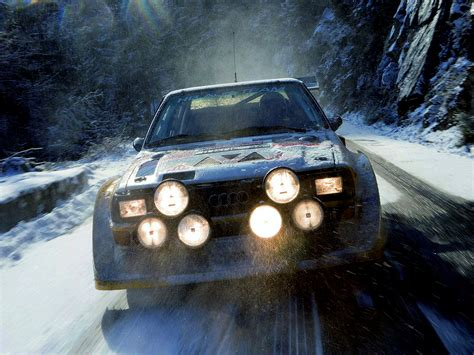 Audi Quattro S1 Group B by Audi Sport Quattro S1 Group B Rally Car Wallpapers Cool