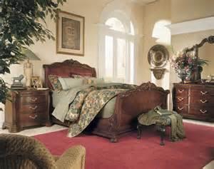 bob furniture bedroom american drew bob mackie home sleigh bed 661 305r at