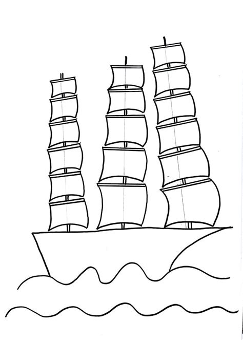how to draw a boat with shapes sailing ship drawing for kids step by step drawing