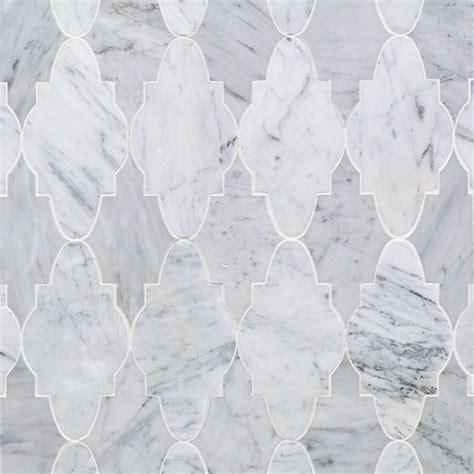 Mosaic Bathrooms Ideas odeza arctic gray marble tile