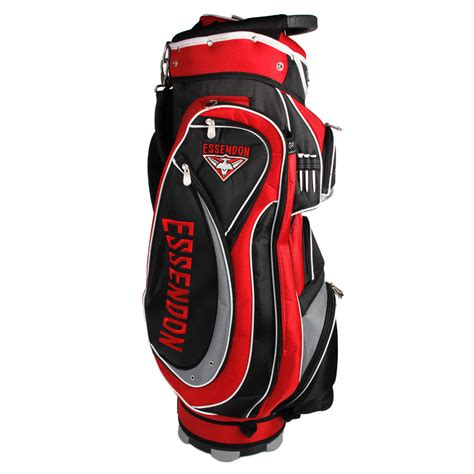 Golf Standbag Golf Pgf afl essendon bombers cart style golf bag sportitude