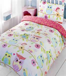 owl bedding owl and friends single bedding set with matching