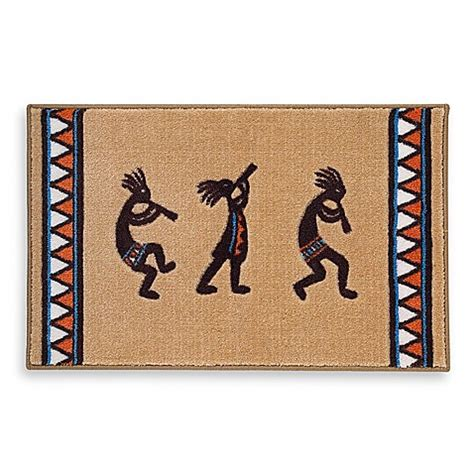 Kokopelli Bathroom Accessories Avanti Kokopelli Bath Rug Bed Bath Beyond