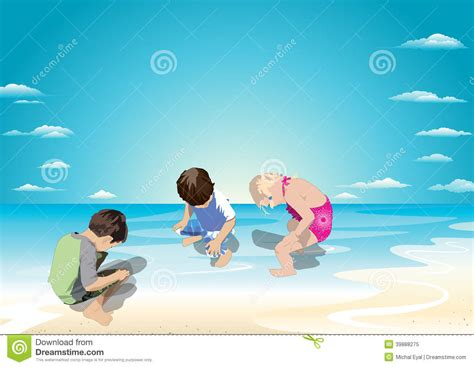 Pipi Free Search To In The Water Stock Illustration Image 39888275