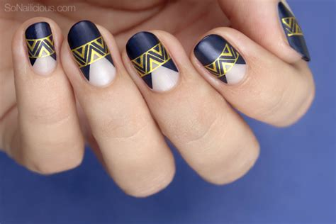 russian nail art tutorial tutorial elegant party nails in dark blue and gold