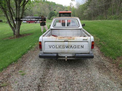volkswagen pickup diesel 1982 volkswagen diesel truck