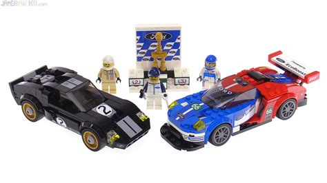 Lego Speed 75881 by Lego Speed Chions Ford Gt Gt40 Review 75881