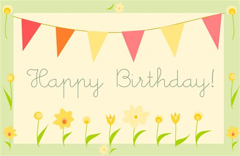 easy printable birthday cards free printable happy birthday greeting card quot gartenparty