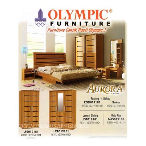 Ranjang Kasur Olympic kamar set olympic minimalis seri harga termurah