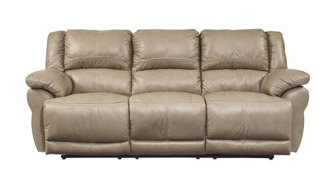 best rated reclining sofas lenoris contemporary caramel metal leather reclining sofa