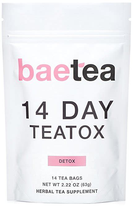 Baetea 14 Day Detox Reviews by Baetea 14 Day Teatox Review Effective Weight Loss Toning