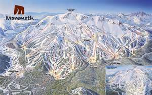mammoth mountain trail map mammoth mountain ski map