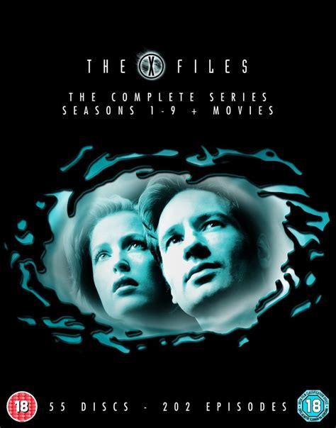film seri x files the x files seasons 1 9 plus movies dvd zavvi