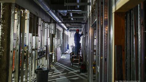 emergency rooms in louisville ky baptist health louisville emergency room renovation expansion project is on schedule