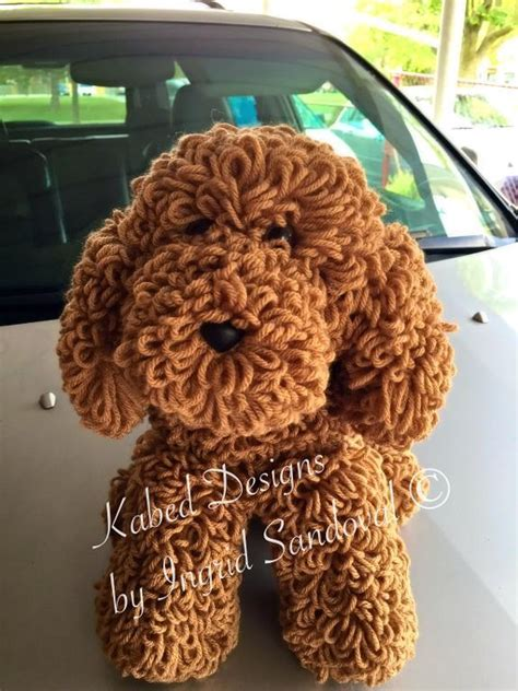 yarn poodle pattern miky the poodle dogui by ingridsandoval craftsy