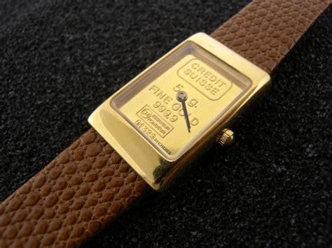 bucherer gold ingot credit suisse quartz ebay