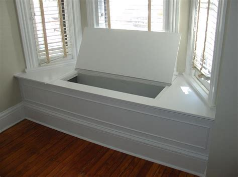 window bench with storage plans storage bench window seat interesting ideas for home
