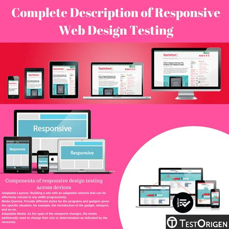 web layout testing complete description of responsive web design testing