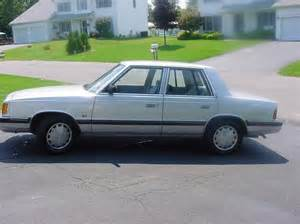1988 Dodge Aries Miller7186 1988 Dodge Aries Specs Photos Modification